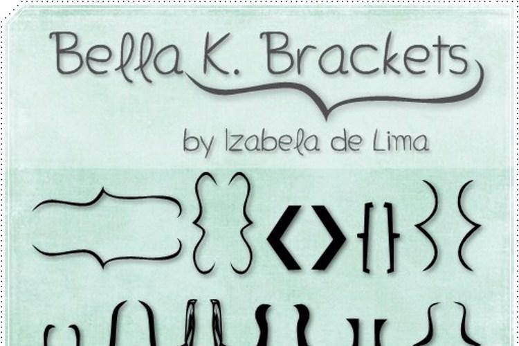 Bella K. Brackets Font