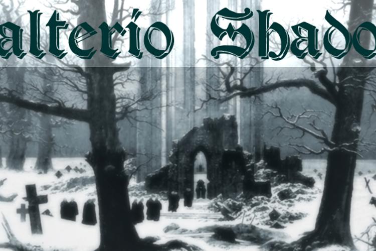 Salterio Shadow Font
