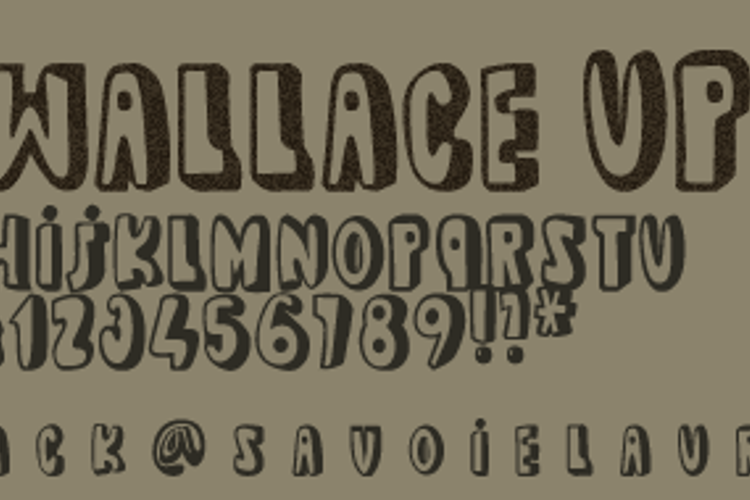 dead wallace UP Font