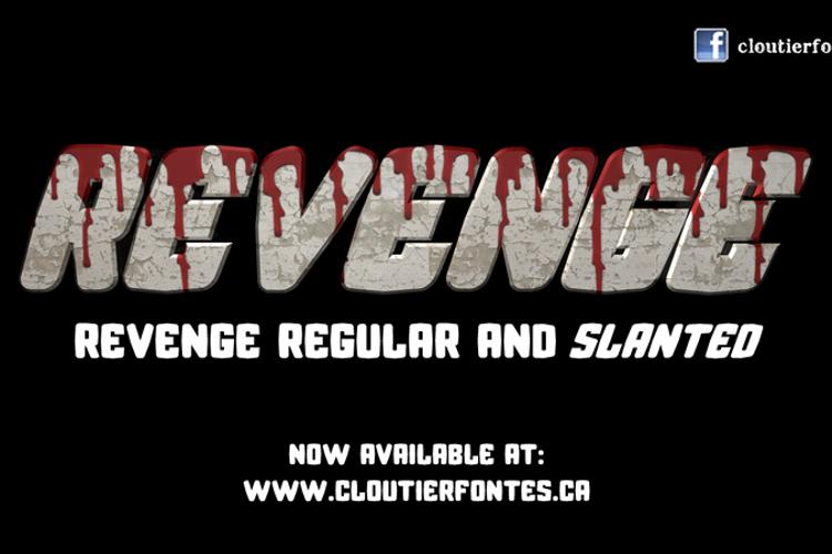 CF Revenge Font