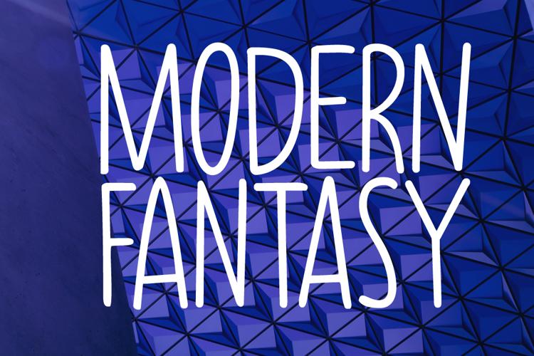 Modern Fantasy DEMO Font