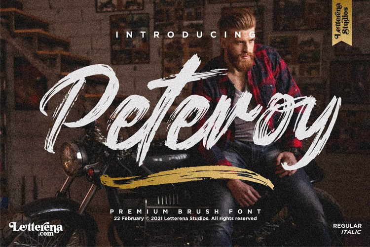 Peteroy Font