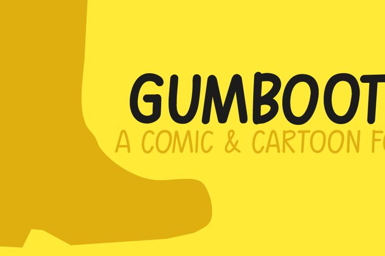 Gumboots Font