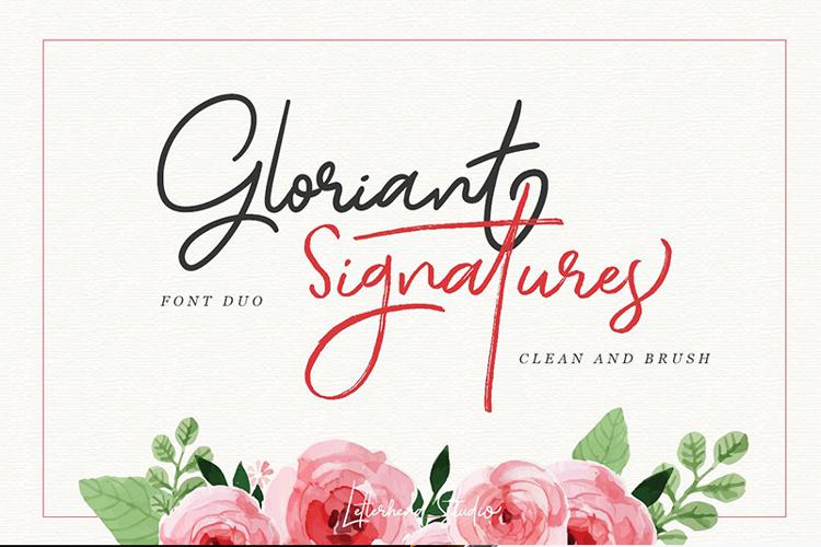 Gloriant Font