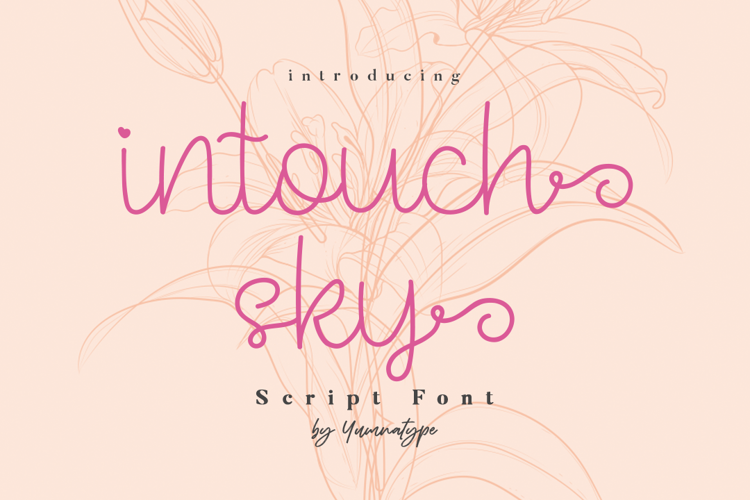 Intouch Sky Font