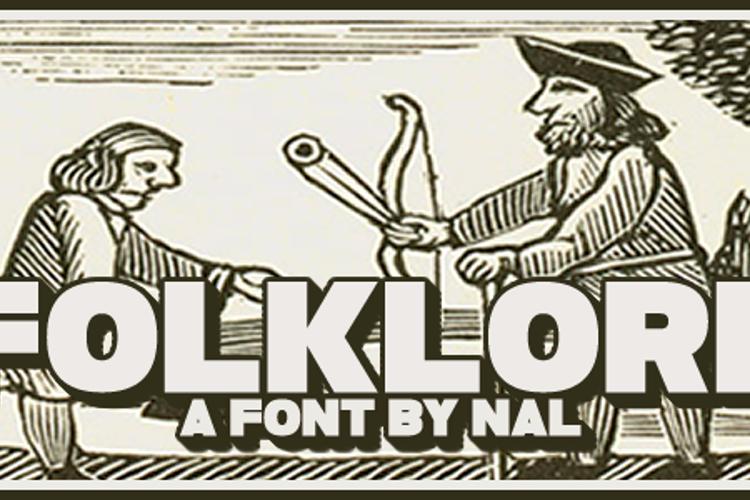 Folklore Font