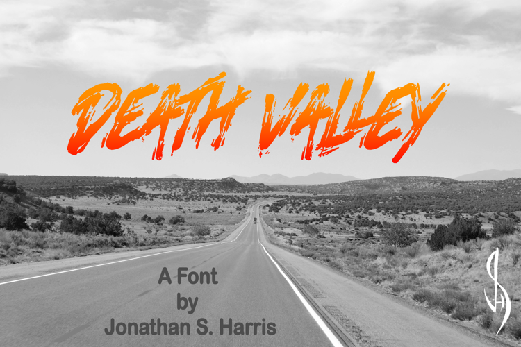 Death Valley Font