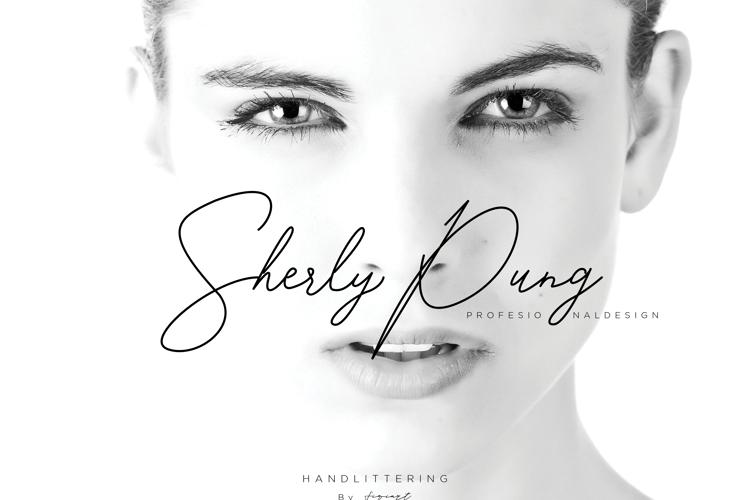 SherlyPung Font