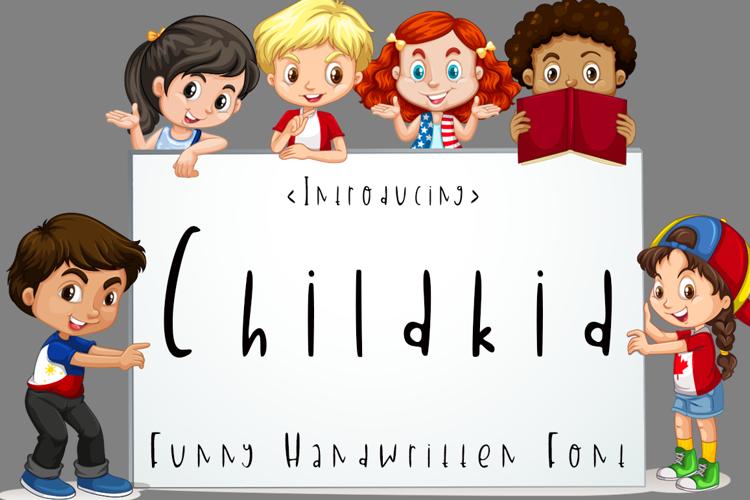 Childkid Font