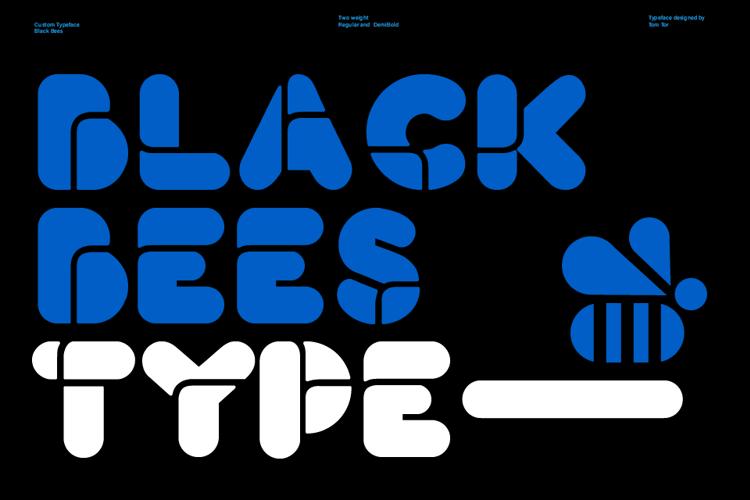 Black Bees Font