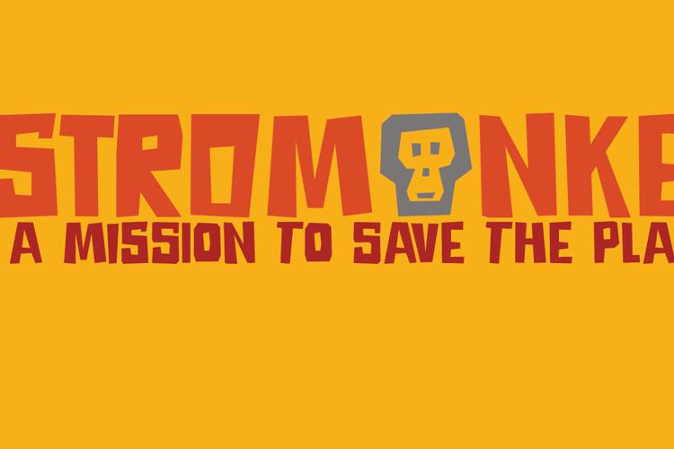 DK Astromonkey Font