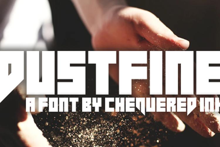 Dustfine Font
