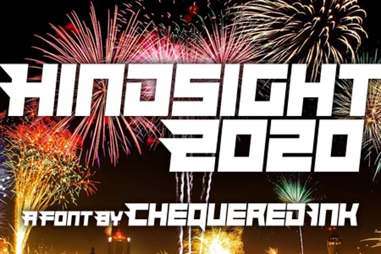 Hindsight 2020 Font