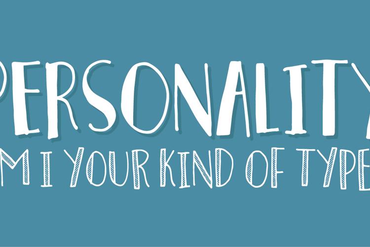 Personality Font