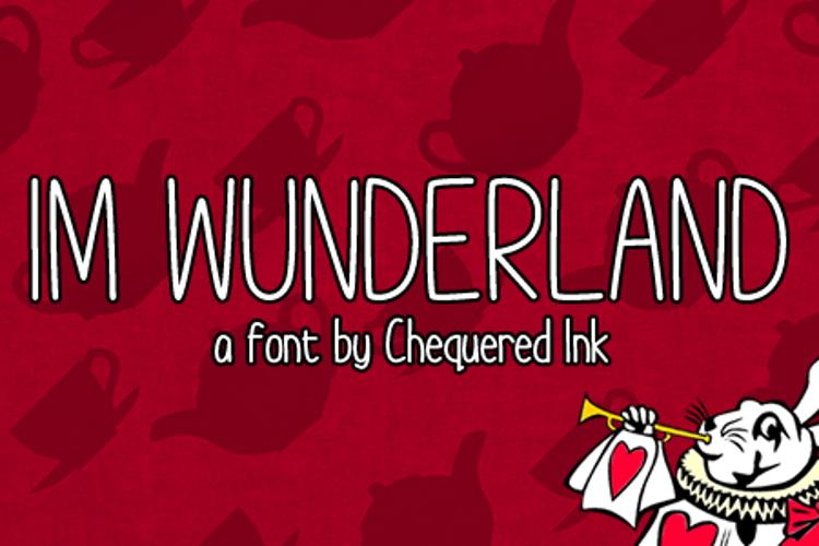 Im Wunderland Font