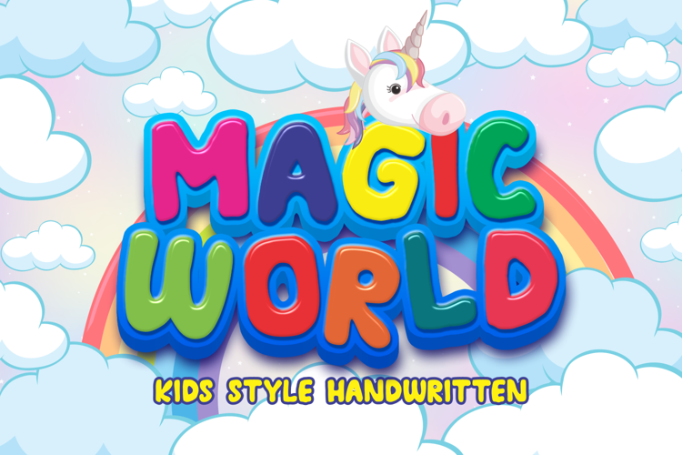 MAGIC WORLD Font