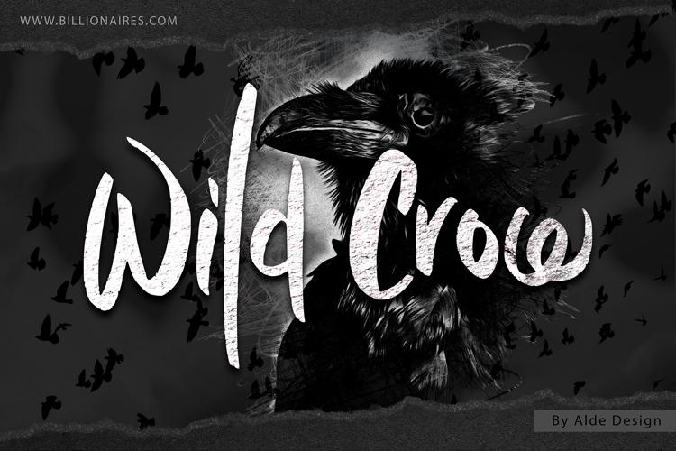 Wild Crow Font