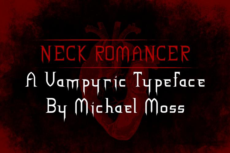 NECK ROMANCER Font