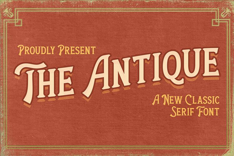 The Antique Font