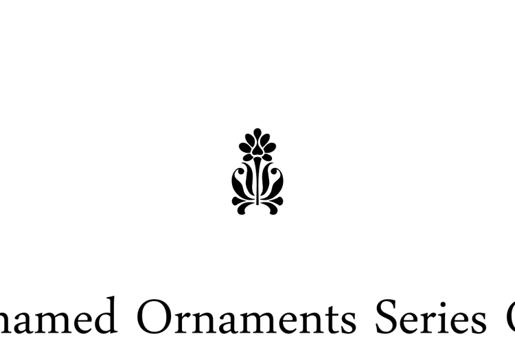 Unnamed Ornaments Series One Font