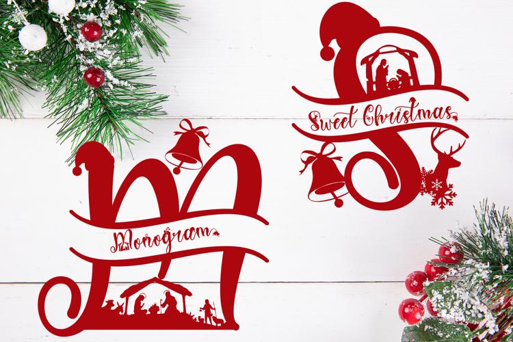 Sweet Christmas Monogram Font