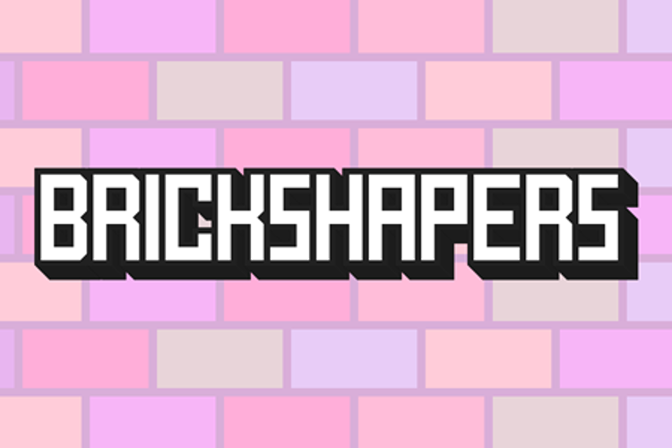Brick Shapers Font