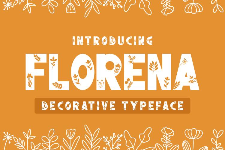 FLORENA Font