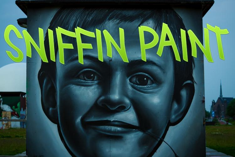Sniffin Paint Font