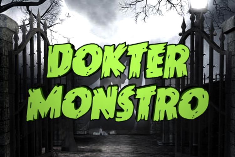 Dokter Monstro Font