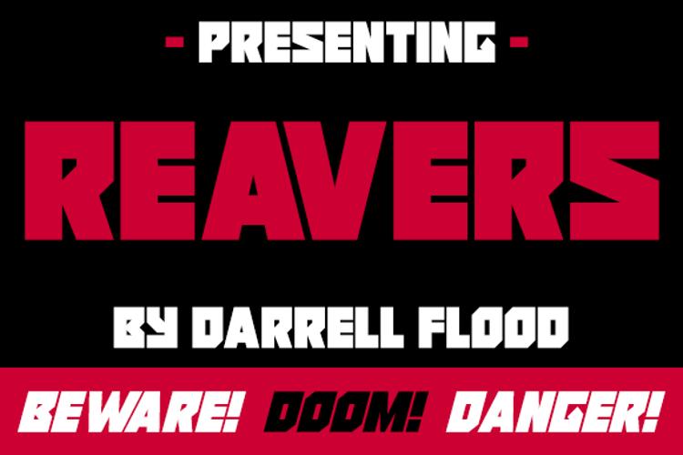 Reavers Font
