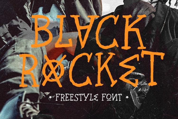 Black Rocket Font