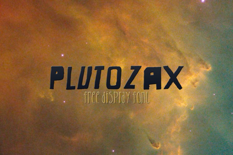 Plutozax Font