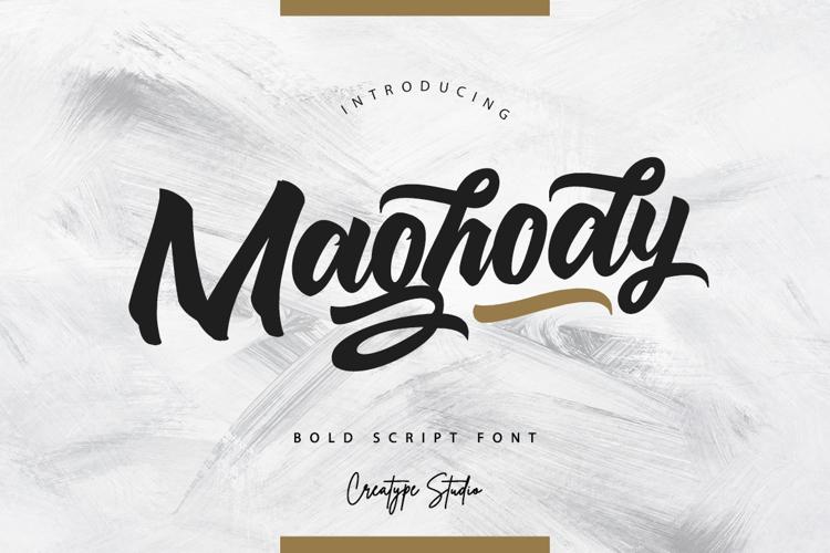 Maghody Font