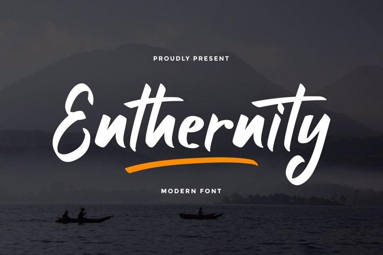 Enthernity Font