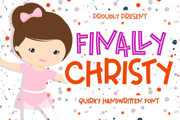 Finally Christy Font
