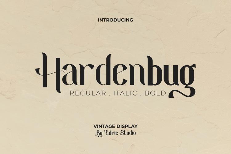 Hardenburg Font