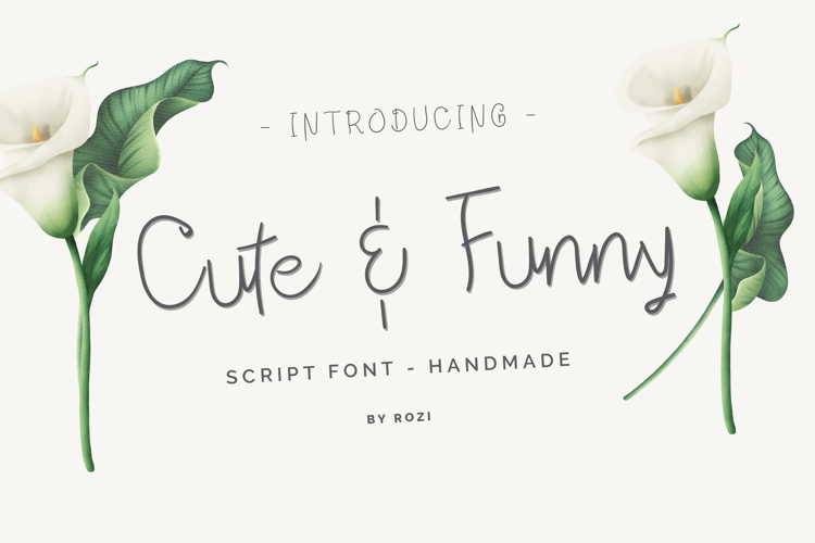 Cute Funnypu Font