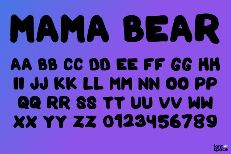 Mama Bear Font