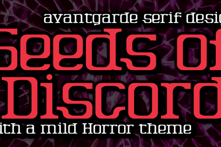 Seeds of Discord Font