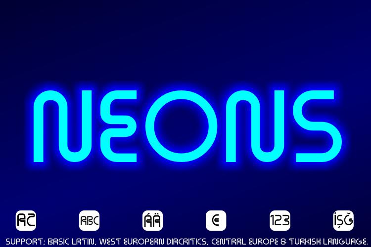 Neons Font