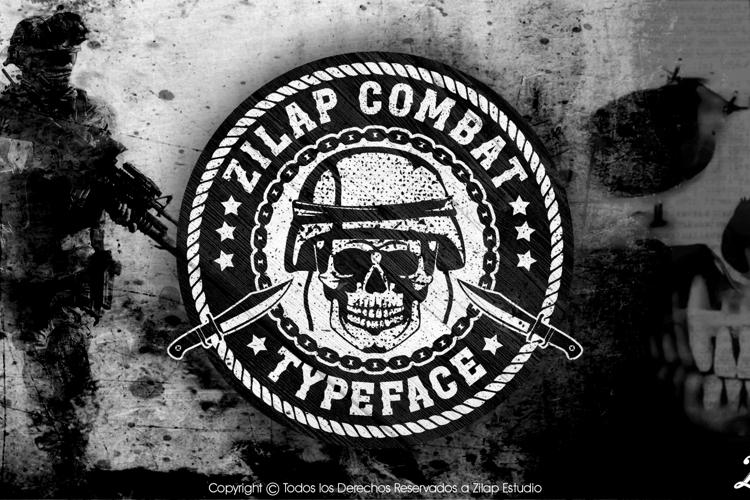 Zilap Combat Font