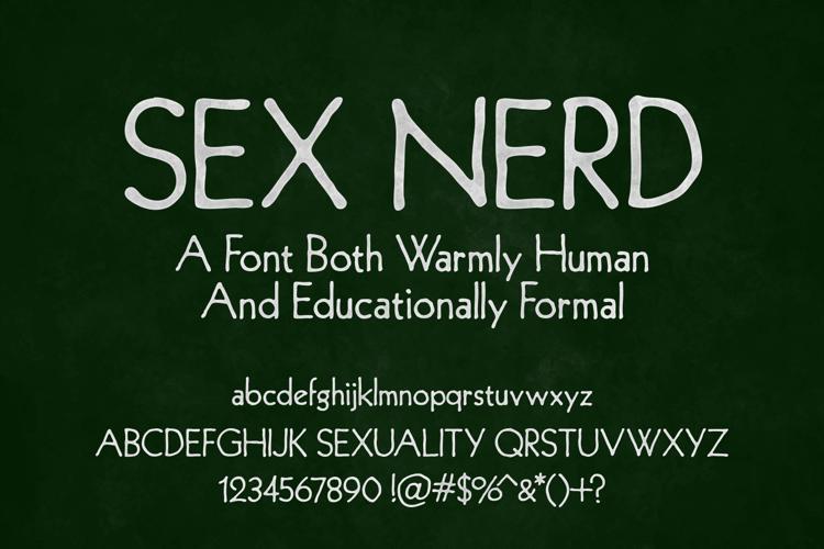 Sex Nerd Font