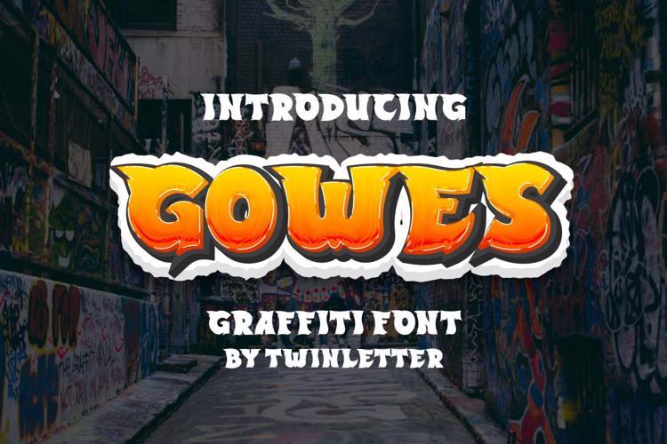 GOWES Font