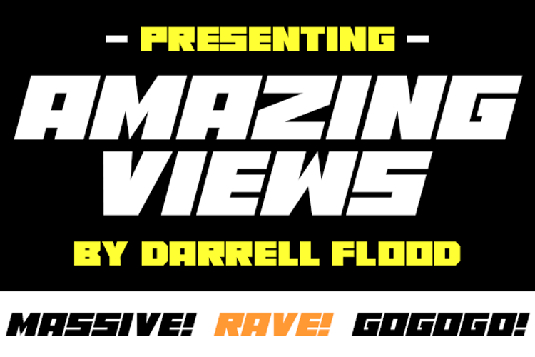 Amazing Views Font