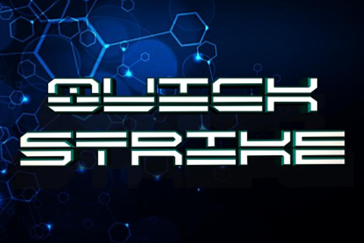 QuickStrike Font