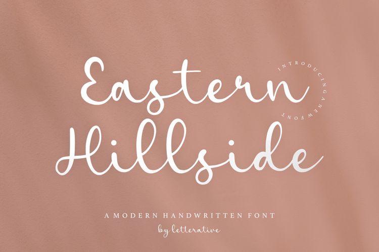 Eastern Hillside Font