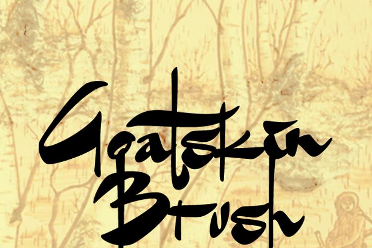 Goatskin Brush Font