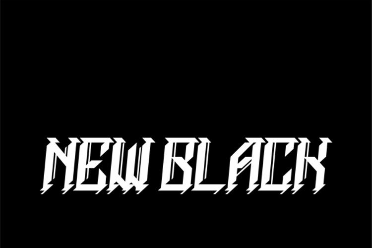 NEWBLACKDEMO Font