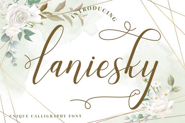 Laniesky Font