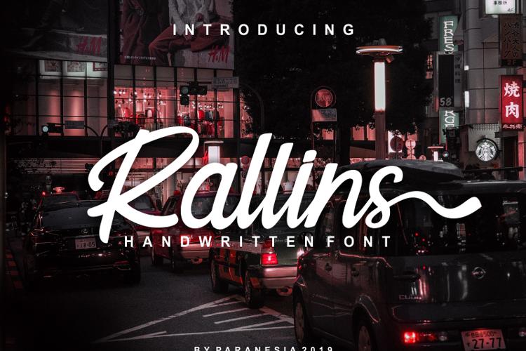 Rallins Font